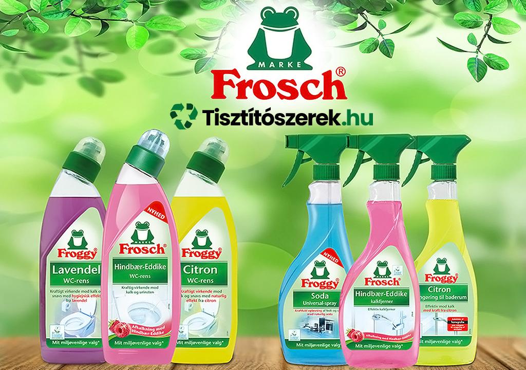 Frosch tisztitoszerek