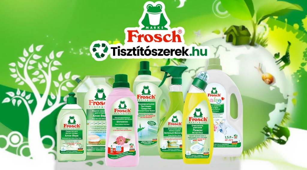 Frosch tisztítószerek